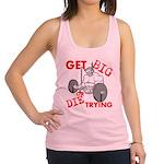 Get Big or Die Trying Racerback Tank Top