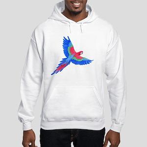 Macaw Hooded Sweatshirt