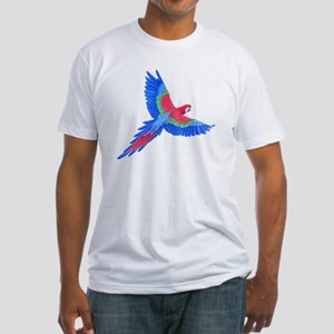 Macaw Fitted T-Shirt
