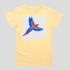 Macaw Girl's Tee
