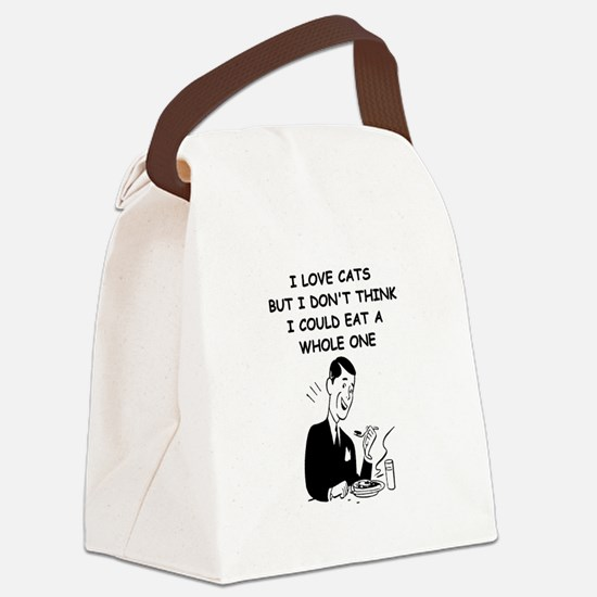 CATS1 Canvas Lunch Bag