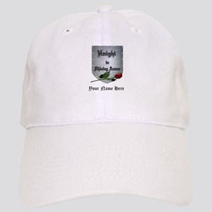 Knight In Shining Armor Rose Personalize Cap