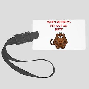 monkeys Luggage Tag
