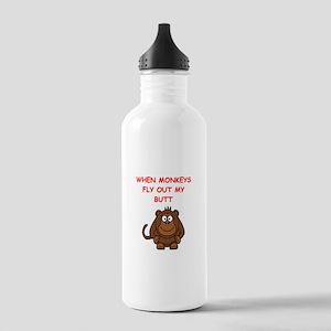 monkeys Water Bottle