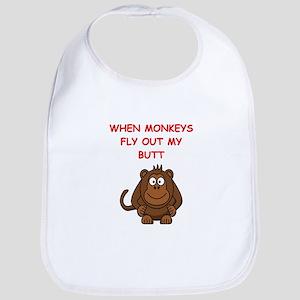 monkeys Bib