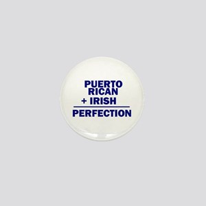 Puerto Rican + Irish Mini Button
