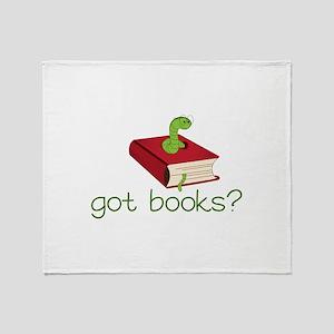 Got Books? Throw Blanket