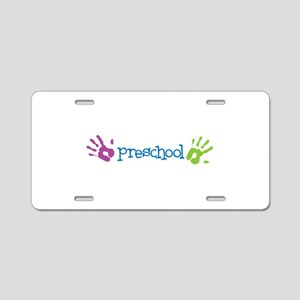 Preschool Aluminum License Plate