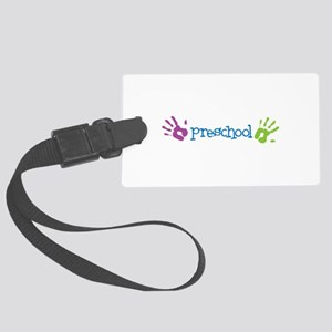 Preschool Luggage Tag