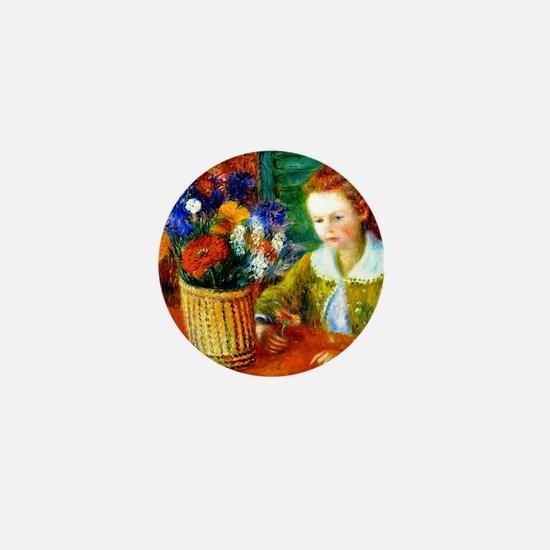 Glackens - The Breakfast Porch Mini Button