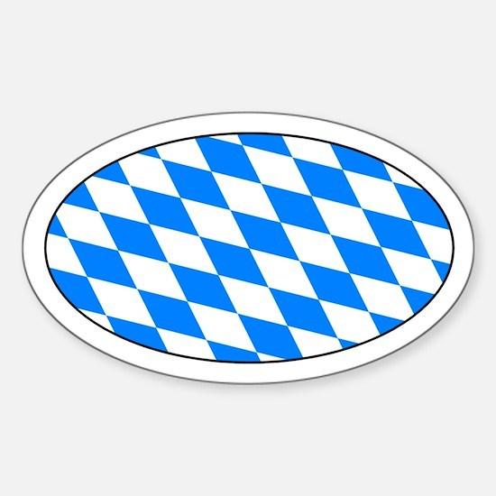 Bayern Raute Aufkleber - Bavarian Lozenge Decal