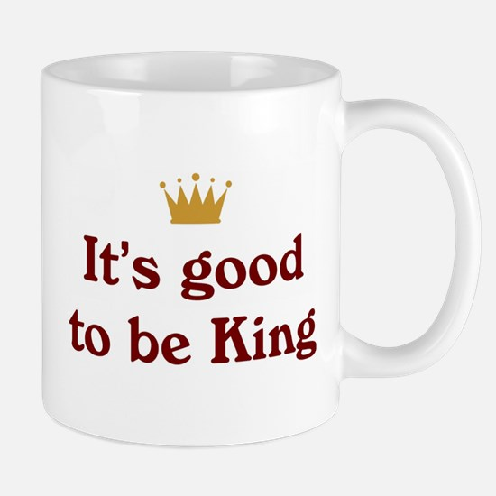 It's good to be King Mug