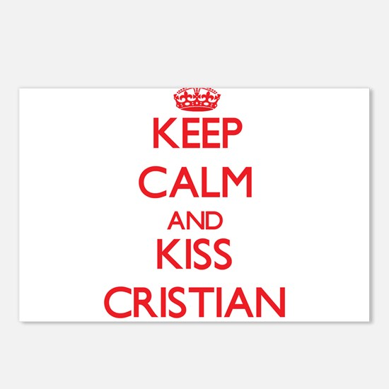 Keep Calm and Kiss Cristian Postcards (Package of