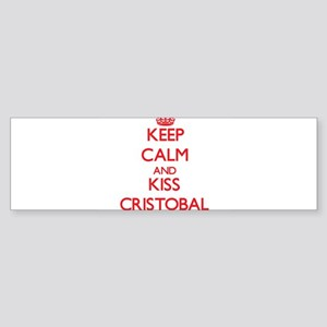Keep Calm and Kiss Cristobal Bumper Sticker