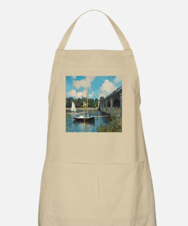 The Bridge at Argenteuil by Monet Apron