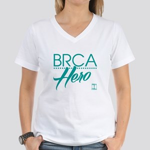 BRCA Hero - Self Women's V-Neck T-Shirt