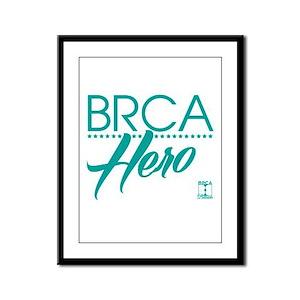 BRCA Hero - Self Framed Panel Print