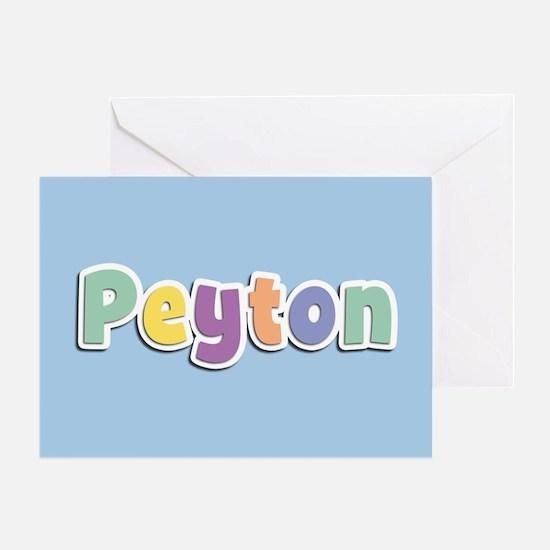 Peyton Spring14 Greeting Card