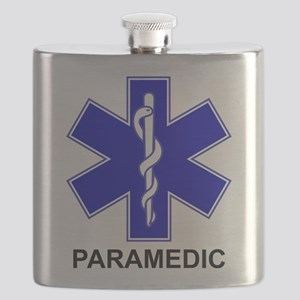 Blue Star of Life - PARAMEDIC Flask