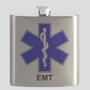 Blue Star of Life - EMT Flask