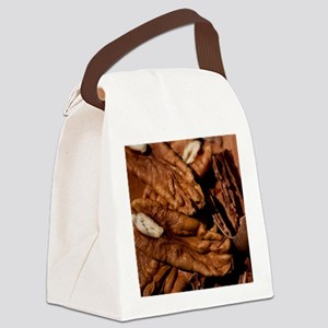 Shelled Pecans Canvas Lunch Bag