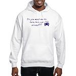 Turn Car Around Hooded Sweatshirt