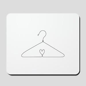 Heart Hanger Mousepad