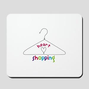 Heart Shopping Mousepad