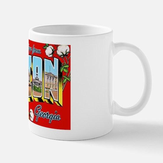Macon Georgia Greetings Mug