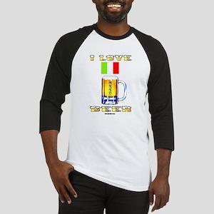 Italian Beer Baseball Jersey