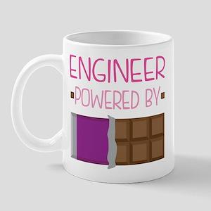 Engineer Powered By Chocolate Mugs