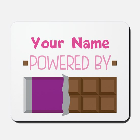Chocolate Lover personalized Mousepad