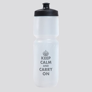 Keep calm and carry on | Personalized Sports Bottl