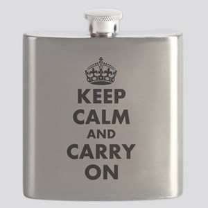Keep calm and carry on | Personalized Flask