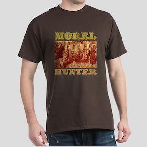 morel mushroom hunter gifts Dark T-Shirt