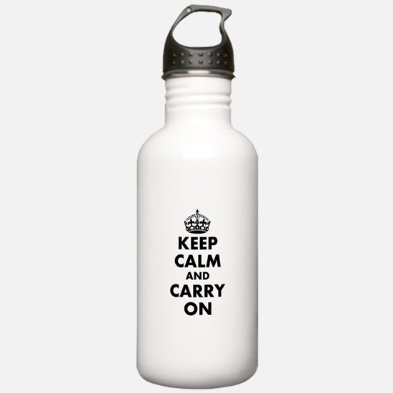 Keep calm and carry on | Personalized Water Bottle
