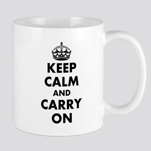 Keep calm and carry on | Personalized Mugs