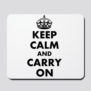 Keep calm and carry on | Personalized Mousepad