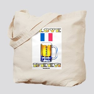 French Beer Tote Bag