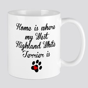Home Is Where My West Highland White Terrier Is Mu