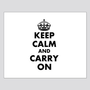 Keep calm and carry on | Personalized Posters