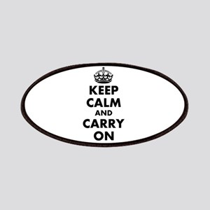 Keep calm and carry on | Personalized Patches