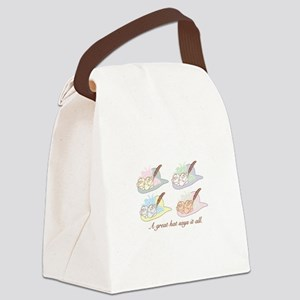 A Great Hat Says It All Canvas Lunch Bag