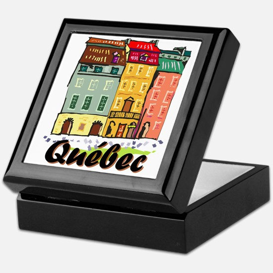 Quebec City Keepsake Box