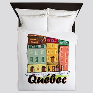 Quebec city Queen Duvet