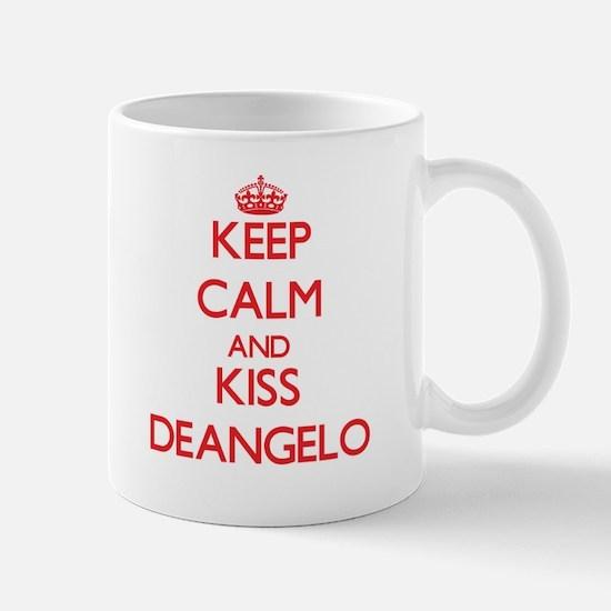 Keep Calm and Kiss Deangelo Mugs
