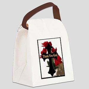 God Canvas Lunch Bag