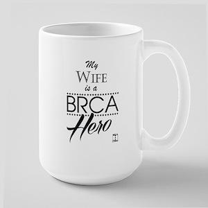 BRCA Hero – Wife Large Mug