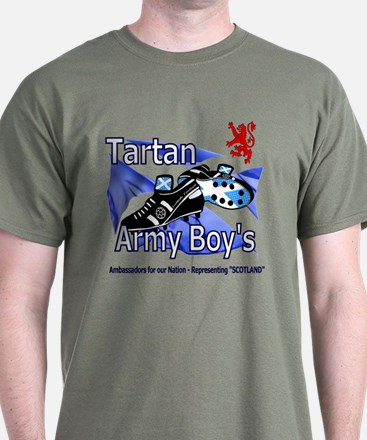Tartan Army Boys Scotland Lion Crest.png T-Shirt