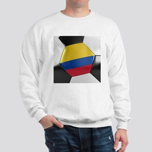 Colombia Soccer Ball Sweatshirt